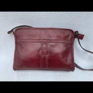 Anthro Tano Small Crossbody Redwood messenger bag